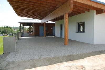 Klubhaus Zubau